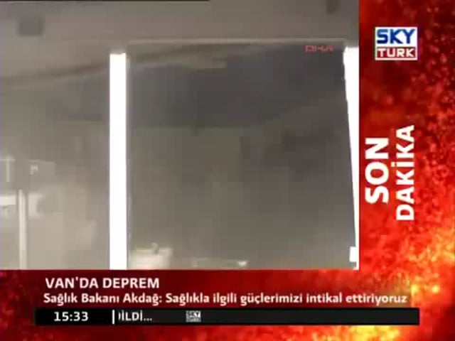 Turkey Earthquakes 33 in 1 Day