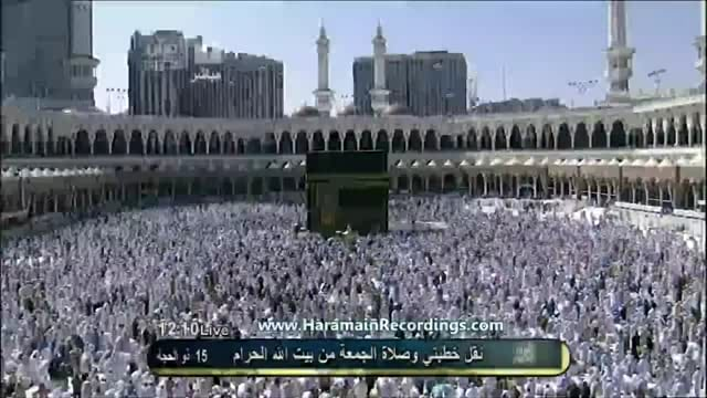 Makkah Friday Khutbah by Sheikh Sudais of date 11.11.2011.