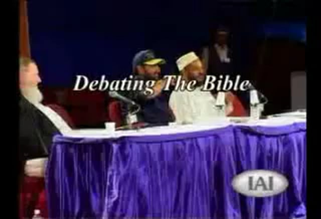 Bible: Debate Or Not? - with Bilal Philips & Yusuf Estes