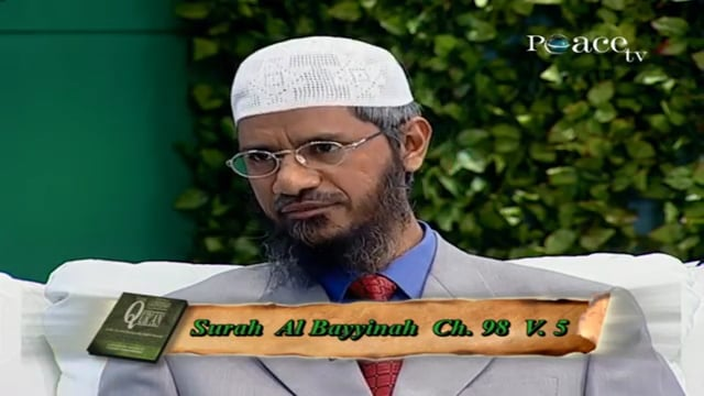 What are the conditions for the acceptance of good deeds in Ramadhaan - Dr Zakir Naik