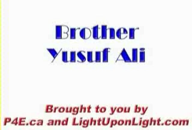 Yusuf Ali - How I came to Islam