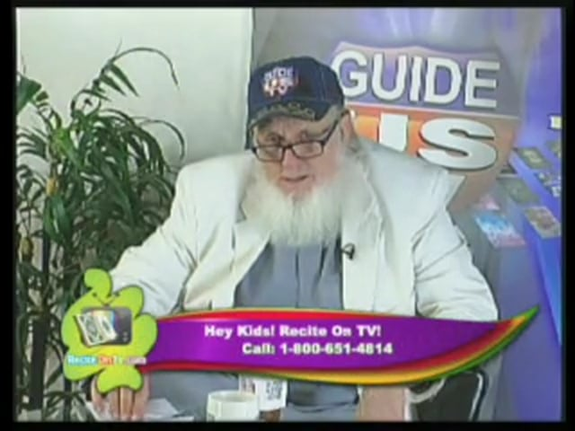 Recite On TV July 23rd 2013