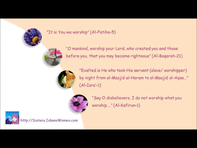 Ramadan 2013 Worshipper series for sisters