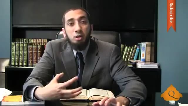 Sexual Desires - Nouman Ali Khan