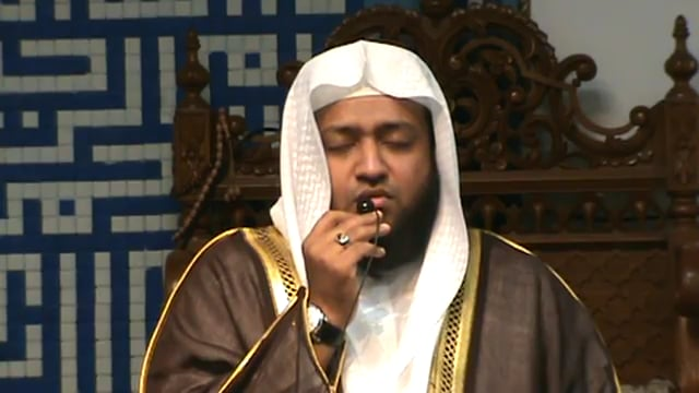 Qari Sa'ad Nu'mani imitation of different recitors