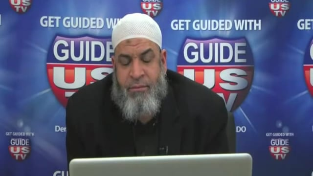 John Makes Shahadah on LIVE TV