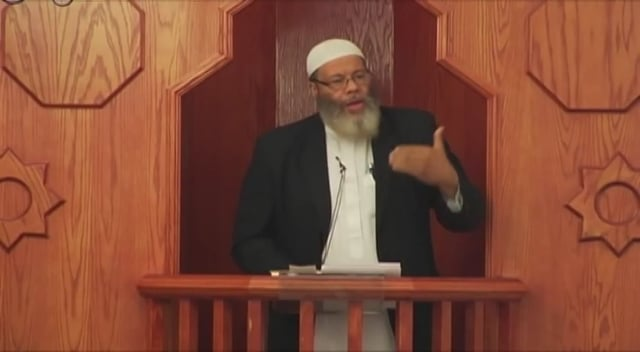 Friday Khutbah by Mutahhir Sabree
