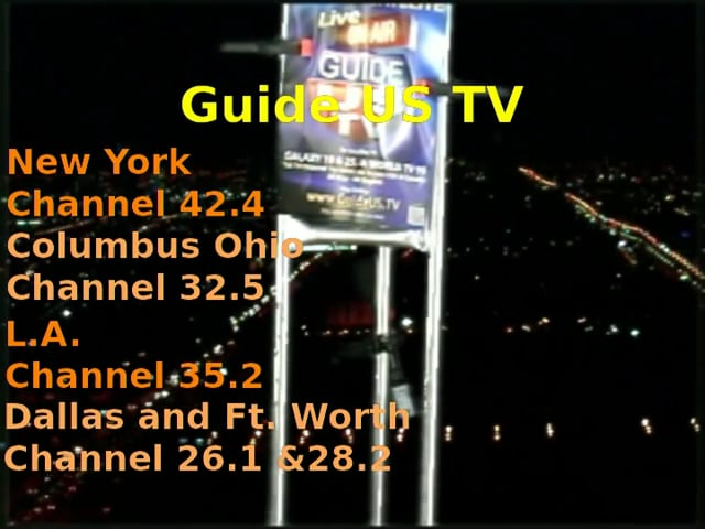 Guide US TV Antenna