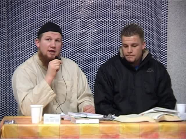 German Brother from Christianity to Islam! Live Shahada