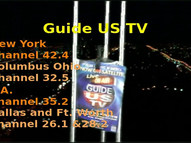Guide Us tv Antenna Promo # 4