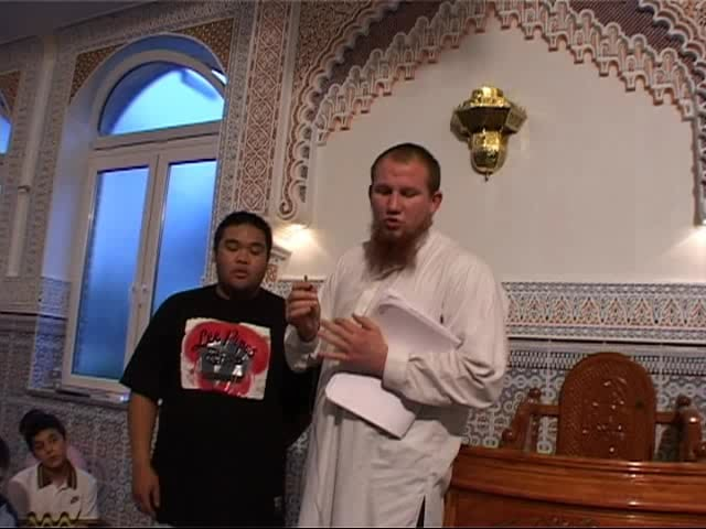Abu Bakr from Francfort Germany Reverts to Islam LIVE