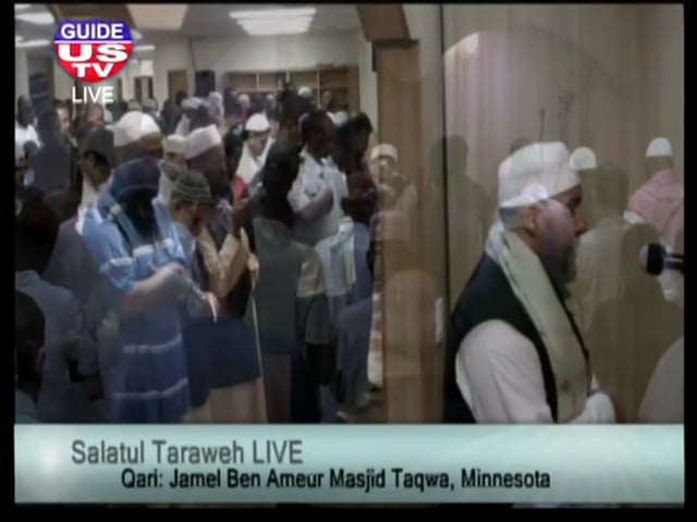 Taraweeh Night 4 - Imam Jamel Ben Ameur