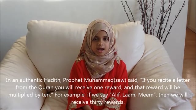 Motivational Ramadan Speech by 8 year Maryam Masud Laam
