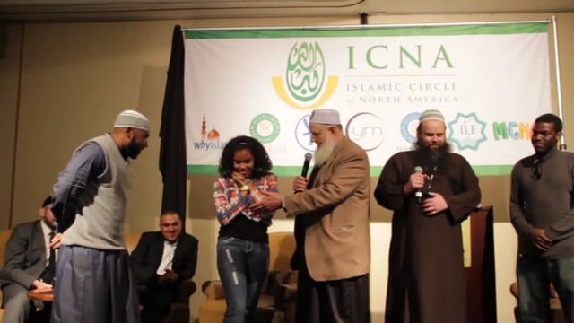 Jasmine Accepts Islam with Abu Hafsah and Yusuf Estes
