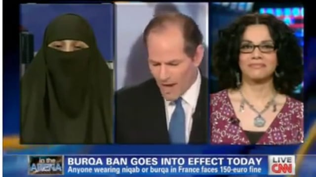 Niqabi Lady WINS TV HIJAB DEBATE