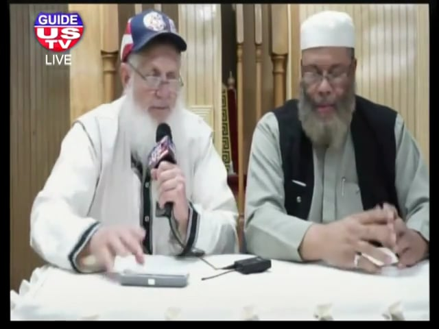 Sheikh Mutahhir and Yusuf Estes Last Night in Seattle 7th September 2014