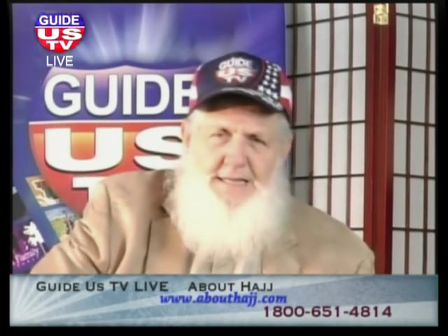 About Hajj with Yusuf Estes on Guide Us TV