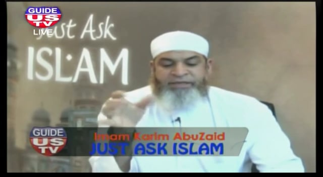 Just Ask Islam - 4th November 2014