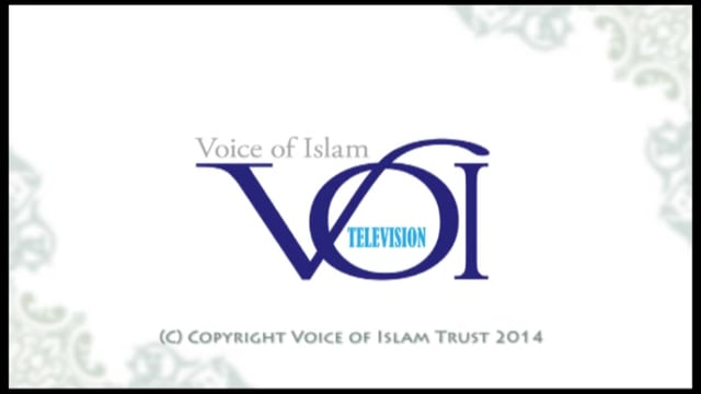 Voice of Islam TV 15 November 2014program