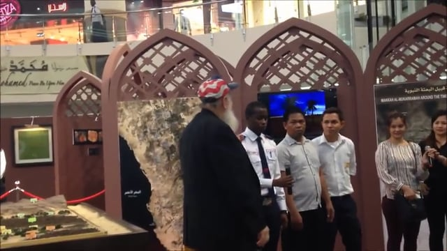 6 People Make Shahadah with Yusuf Estes in Ezdan Mall Nov. 2014