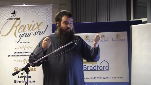 Revive Your Soul - Abdur Raheem McCarthy (Ireland)