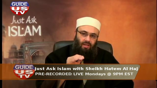 Just Ask Islam 16th Feb 2015
