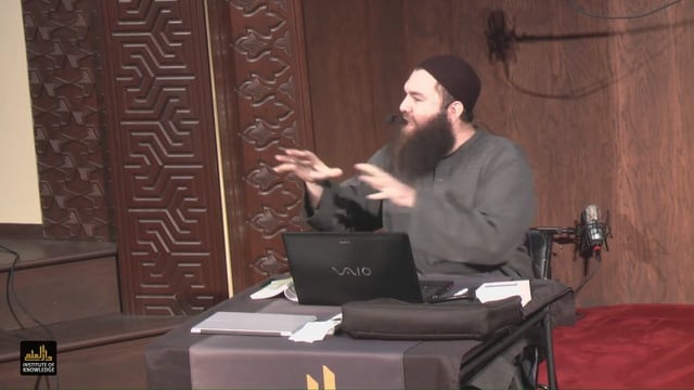 "WhyIslam New Muslim Seminar | ""Faith & Belief"" by Shaykh Ahmad Alkurdy"