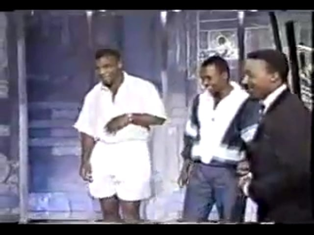 Muhammed Ali and Mike Tyson on same talk show - P1 (rare)