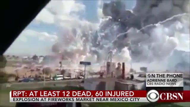 29 Killed in Mexico Fireworks explosion More feared dead
