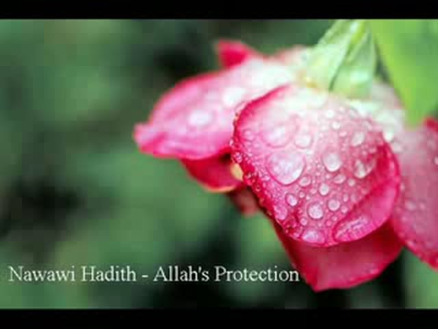 Protection of Allah - From Nawawi 40 Hadeeth Collection