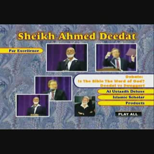 Ahmad Deedat vs Rev. J.Swaggart Is Bible the word of God?