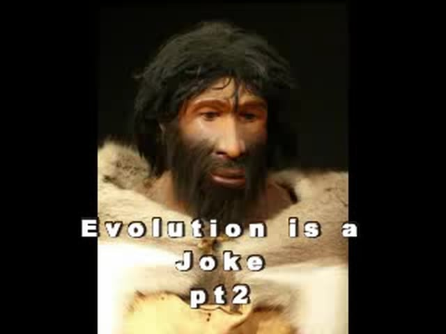 Evolution is a joke pt 2