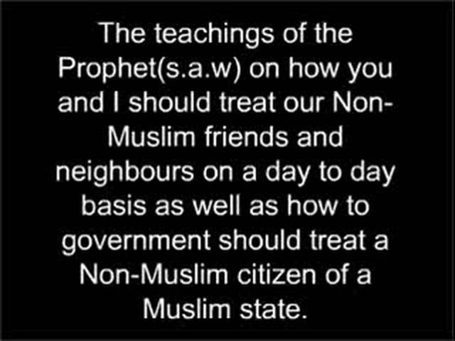 Treatment of Non-Muslims