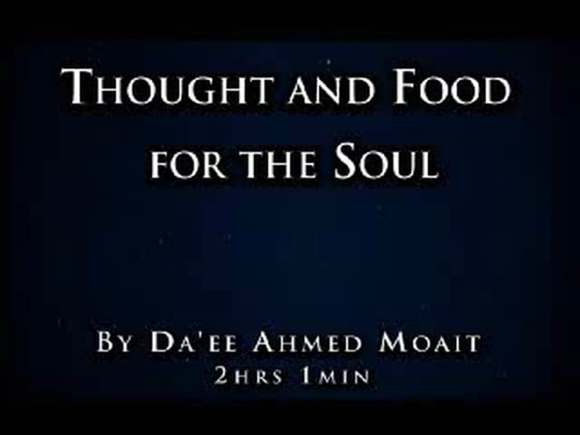 Thought and food for Soul..A must see!!! - Part 1