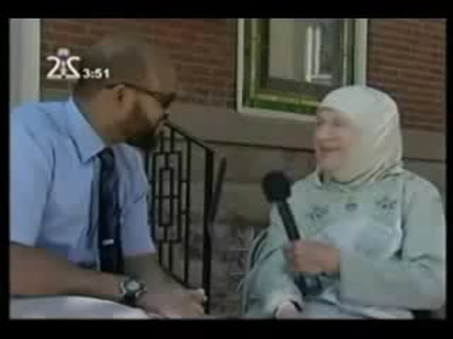 A 75 Year Old American Lady explains why she choose ISLAM