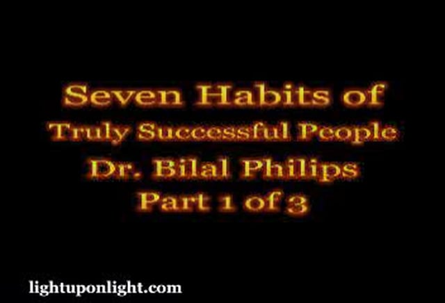 7 Habits of Truly Successful people By Philips Part 1 of 3