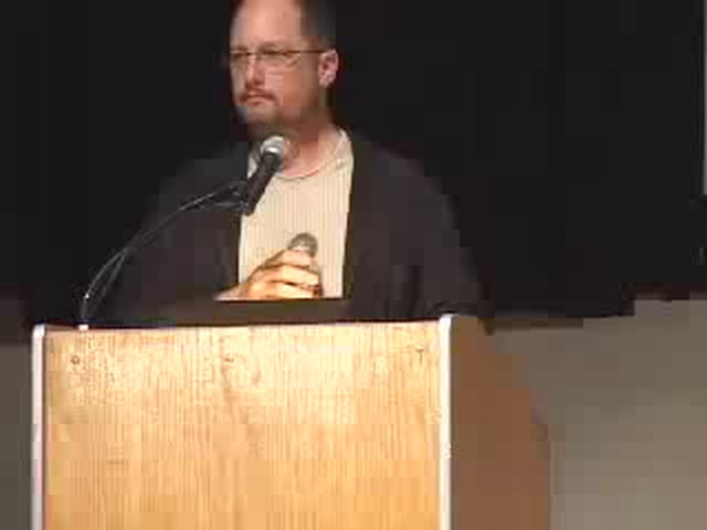 Dr Bart Ehrman lecturing about the history of Bible Q and A