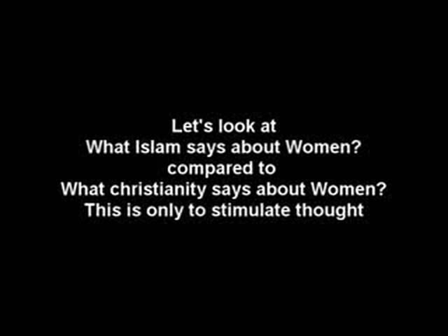 Women in Christianity and Islam