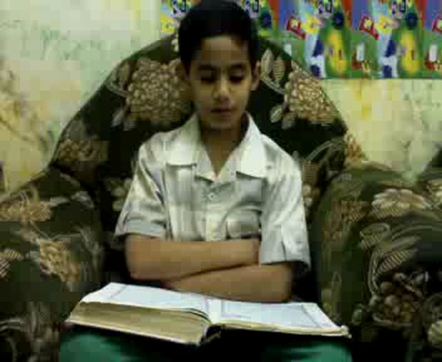 Muslim Kid recites quran !