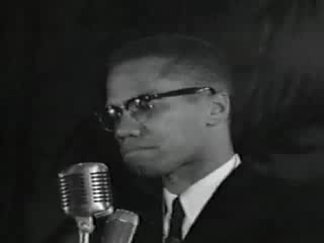MalcolmX Explains Black Nationalism