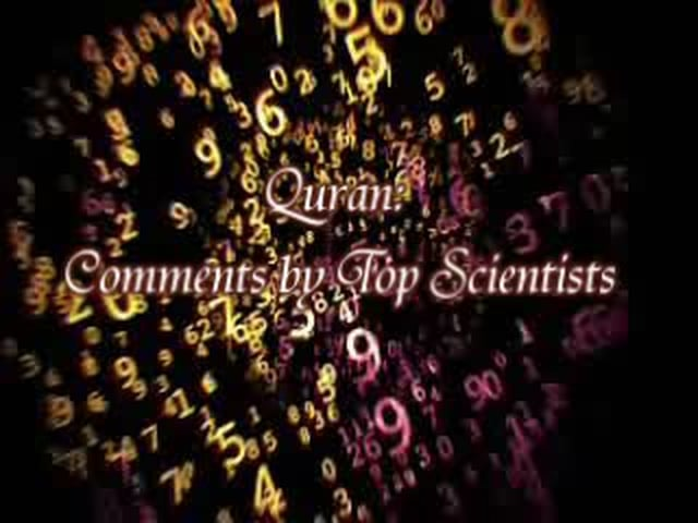 *Quran: Comments by Top Scientists*