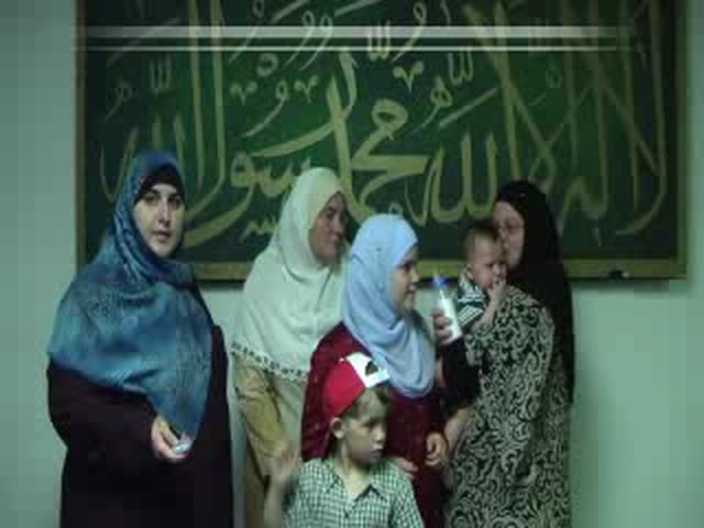 A Whole family become Muslims