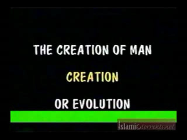 Creation Of Man  Creation Or Evolution  Dr. Bucaille (1 10)