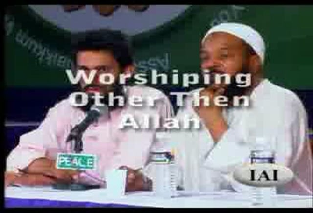 Worshipping other then Allah