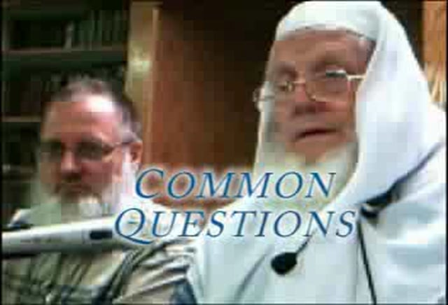 Common Questions: Salim Morgan & Yusuf Estes