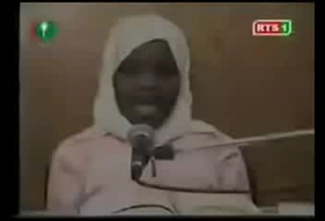 2nd girl from Senegal reciting Quran