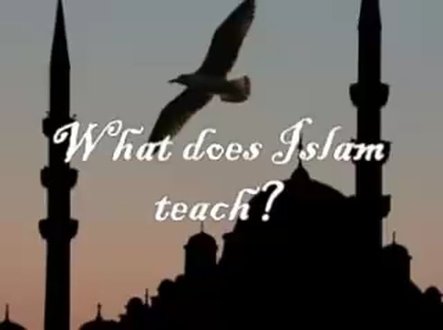 what islam teaches