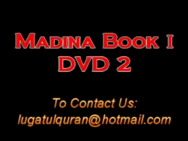 Madina Arabic Course DVD 02 Part A1