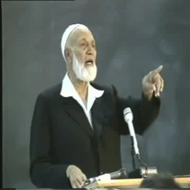 Ahmed Deedat - Lecture at San Jose Univeristy 2 of 3