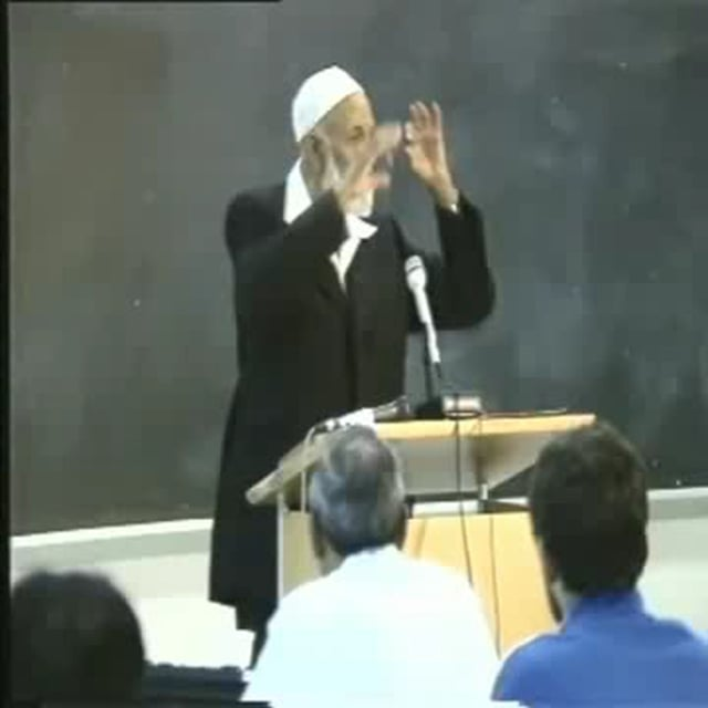 Ahmed Deedat - Lecture at San Jose Univeristy 3 of 3